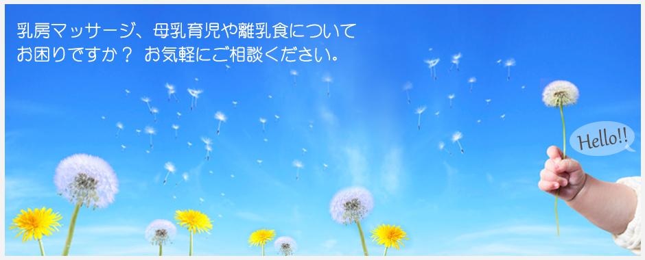 神奈川県平塚市で乳房マッサージ・保健指導・各種ワークショップを行っています